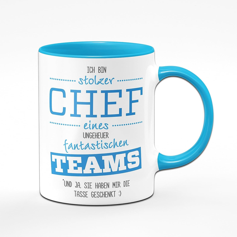 Tasse Stolzer Chef eines fantastischen Teams - Geschenke für den ...