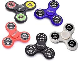JUSLINK 5 Pack Fidget Spinners