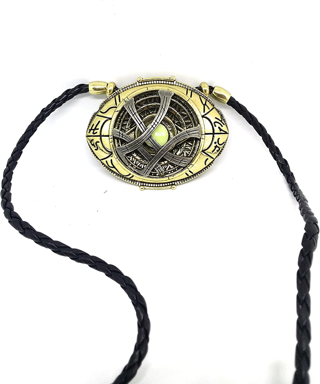 Premium Quality Dr Strange Pendent Medallion Glows In Dark Eye Of Agamotto Pendent Free Gift Bag With All Orders Rare Dr Strange S Medallion Schmuck