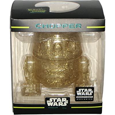Funko Hikari Minis Gold Glitter Chopper Droid Star Wars Rebels Smuggler's Bounty March 2020 Exclusive Vinyl Figure: Toys & Games