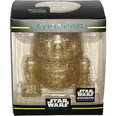 Funko Hikari Minis Gold Glitter Chopper Droid Star Wars Rebels Smuggler\'s Bounty March 2020 Exclusive Vinyl Figure: Toys & Games [5Bkhe0502492]