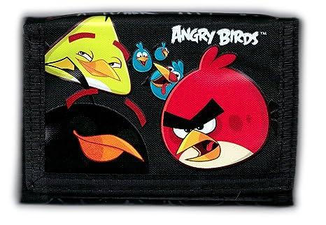 7549013459 Portafoglio portafogli bambino ANGRY BIRDS: Amazon.it: Valigeria