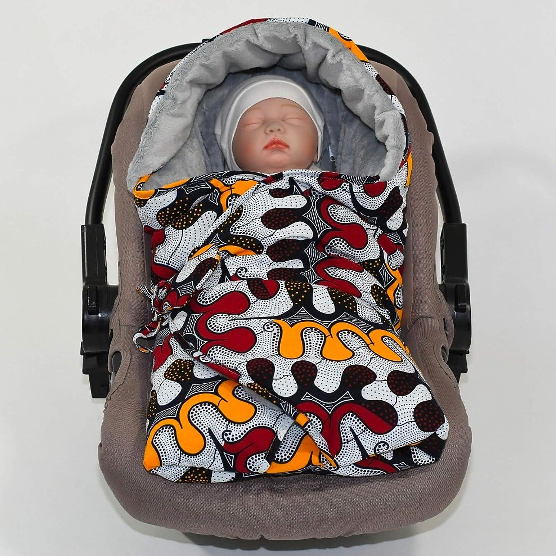Sevira Kids nid dange pour la poussette ou si/ège auto 0-24 mois Chanceli/ère universelle et imperm/éable Candy 2.0
