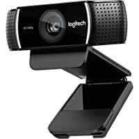 Logitech C920 1080p HD Pro Webcam (Black)