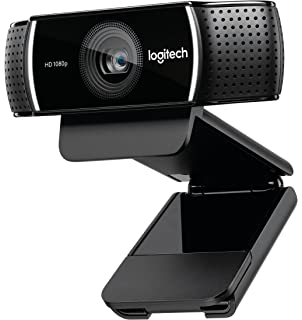 Logitech C922x Pro Stream Webcam – Full 1080p HD Camera – Background Replacement Technology for YouTube