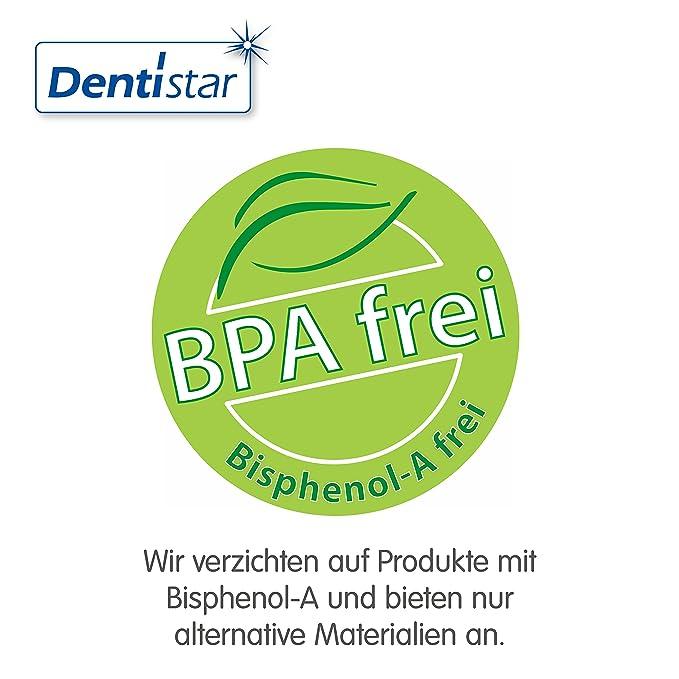 denti Star® Silicona Chupete (2 unidades, incluye 2 tapones ...