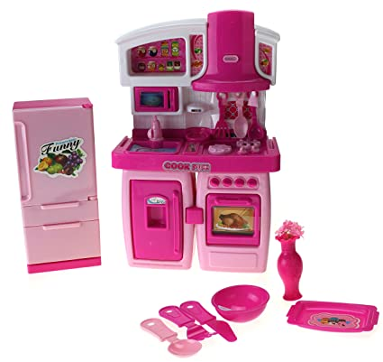 Amazon Com My First Kitchen Toy Kitchen Playset W Stove