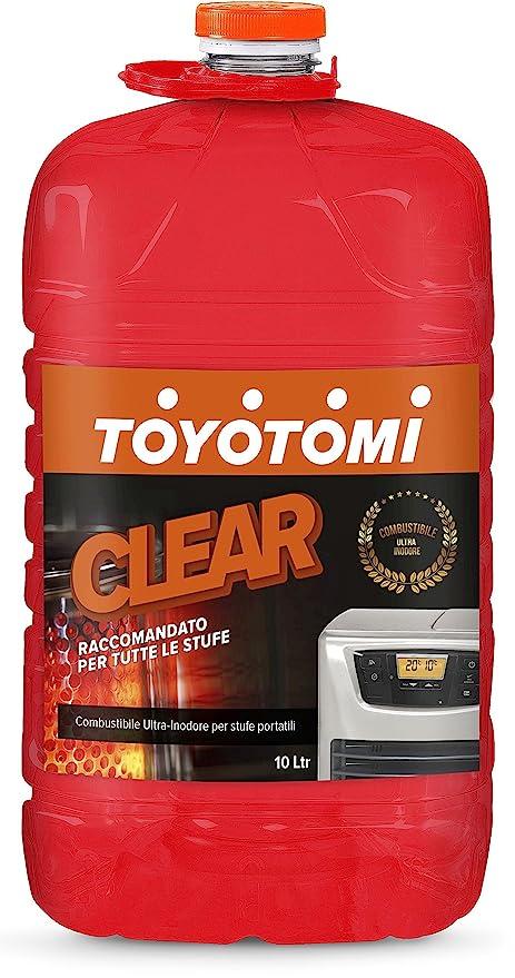 Toyotomi 2828554 Clear, combustible universal para estufas portátil, Naranja, ...