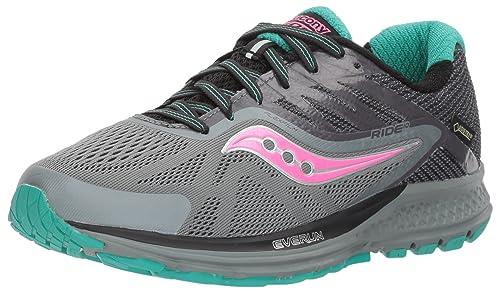 5b3a3bb57e2e Saucony Women s Ride 10 GTX Running Shoes  Amazon.ca  Shoes   Handbags