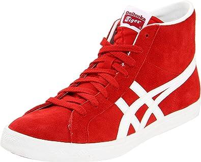 88308e6ab3b88 Amazon.com | Onitsuka Tiger Fabre Bl-L OG Fashion Sneaker, Red/White ...