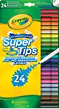 Crayola Super Tips (24- Piece, Multi-Colour)