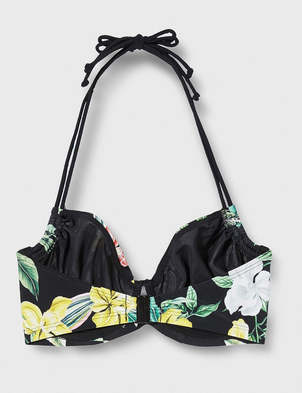 Pour Moi Miami Brights Adjustable Halter Underwired Top Reggiseno Bikini Donna
