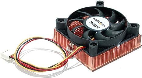 StarTech.com FAN3701U - Ventilador para Socket 7/370 con disipador ...