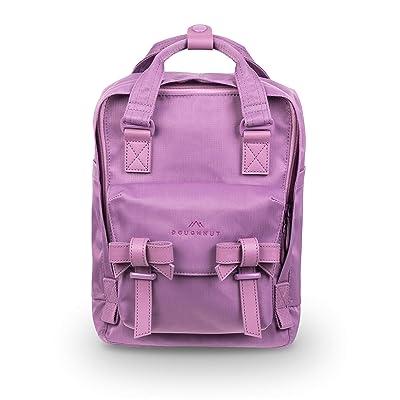 Doughnut Macaroon Mini Ribbon Series 7L Travel School Ladies College Girls Lightweight Casual Daypacks Bag Small Backpack (Purple Tulip) | Kids' Backpacks