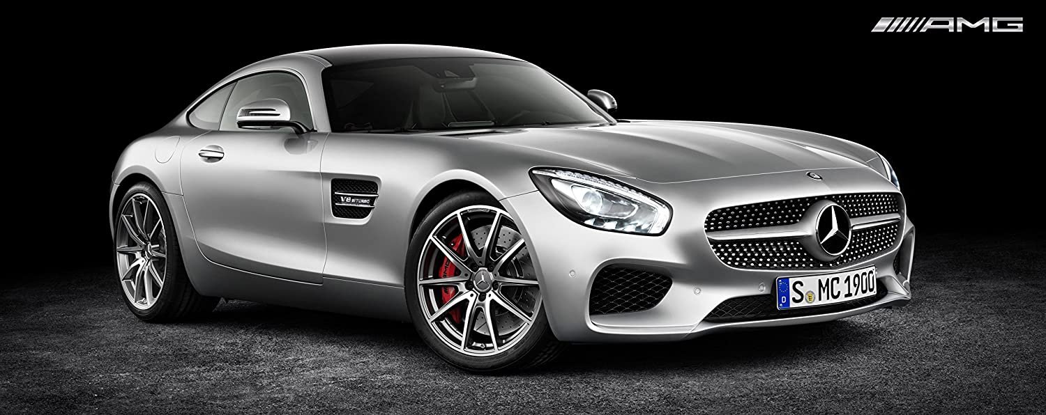 Uitgelezene Amazon.com: 2016 Mercedes Benz Amg Gt Large Poster Sports Luxury MO-19