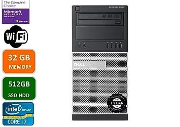 Amazon.com: Dell Optiplex 9020 Mini Tower - Ordenador de ...