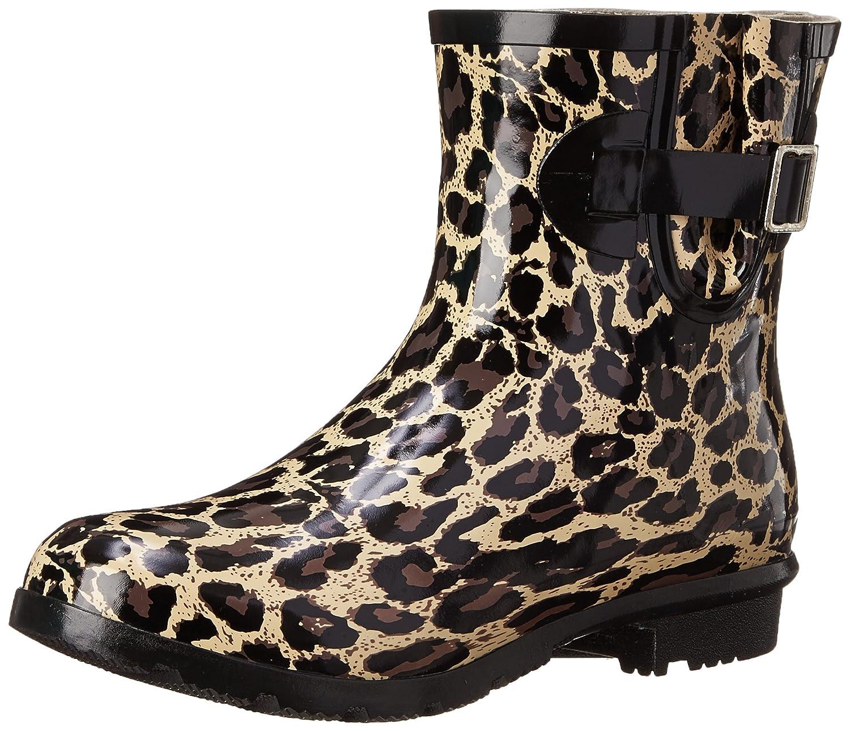 Nomad Women's Droplet Rain Boot B00T9QR446 6 B(M) US|Tan Leopard