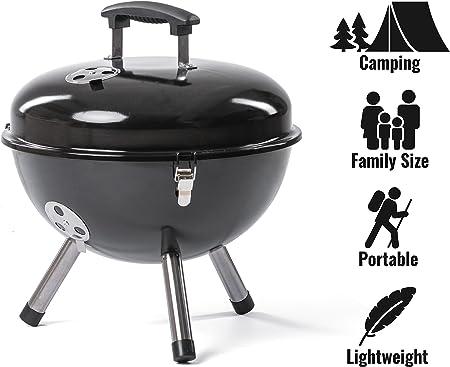Barbecue Electrique Grille Ronde pour Jardin