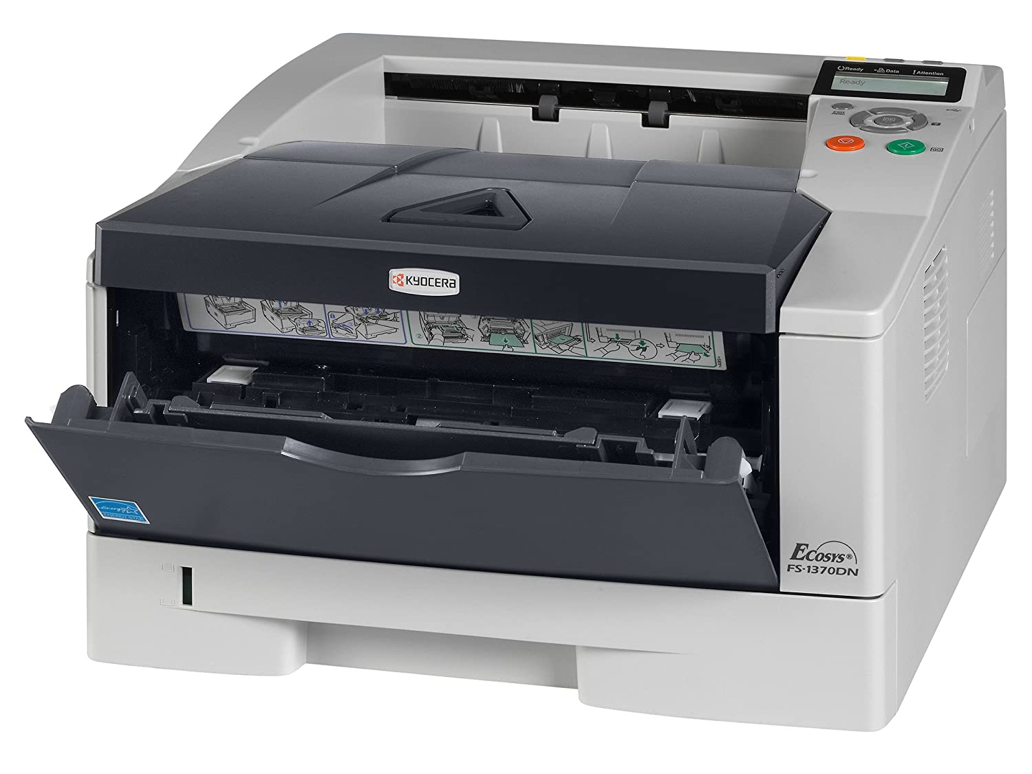 Kyocera ECOSYS FS-1370DN Printer KX New