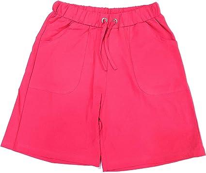 Trufit Pantalones Cortos de Lycra de Punto de algodón para Mujer ...