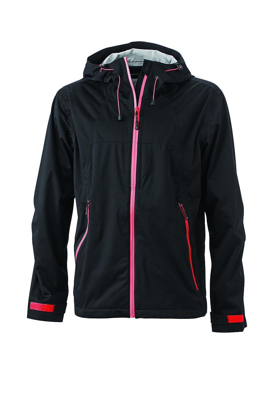 noir rouge M Veste Trekking randonnée Homme Softshell Ultra-légère Coupe-Vent imperméable