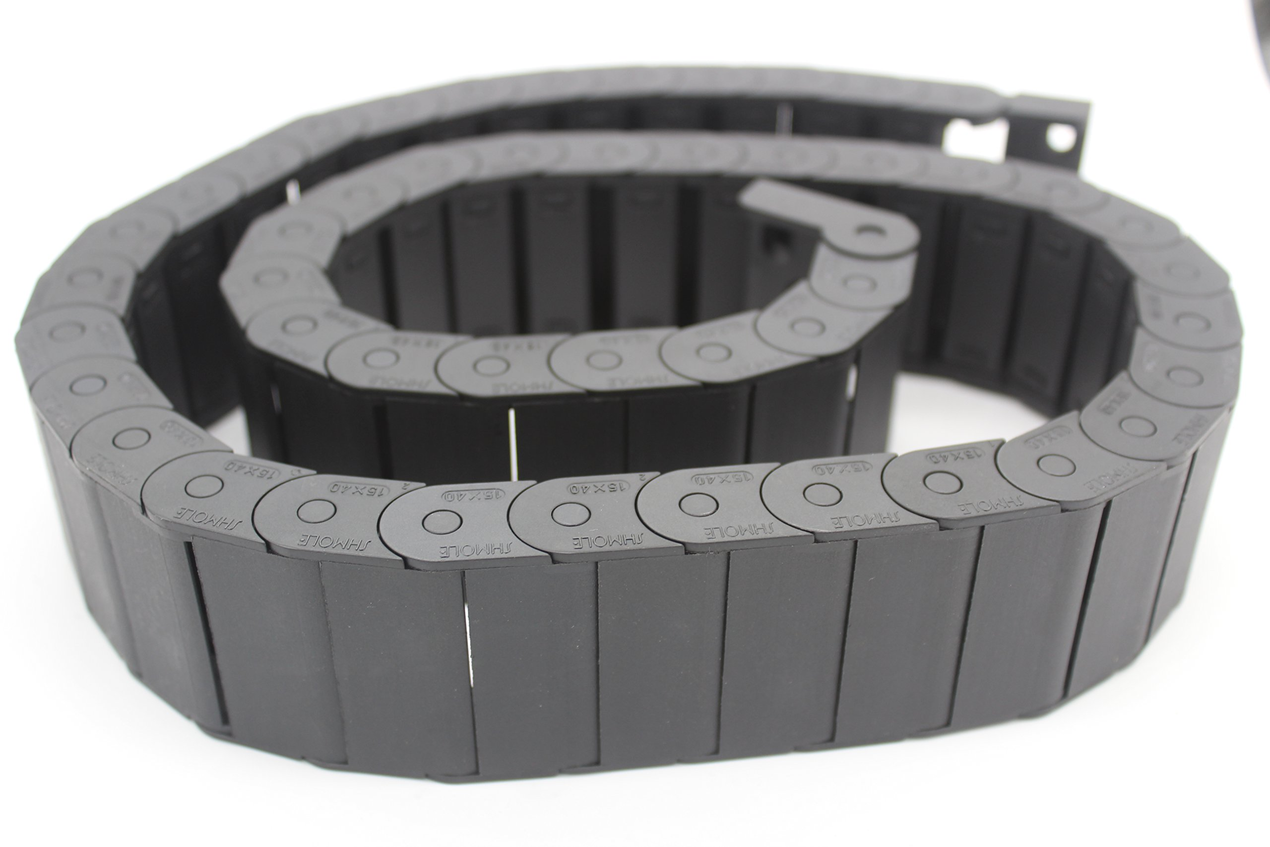 MAJIAWEI PlasticTowline CNC Machine Tools Cable Carrier Drag Chain (15X40mm)