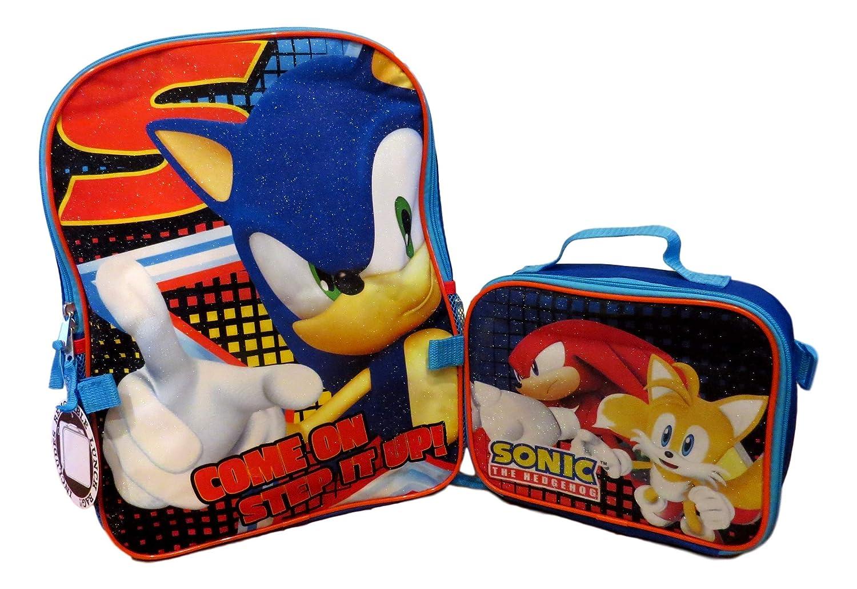 Amazon.com: Sonic The Hedgehog - Mochila grande de 15.7 in ...