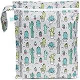 Bumkins Zippered Wet Bag, Cacti
