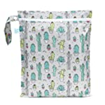 Bumkins Waterproof Wet Bag, Cacti