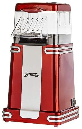 Gadgy ® Maquina de Palomitas | Palomitero Vintage | Aire Caliente Sin Grasa Aceita: Amazon.es: Hogar