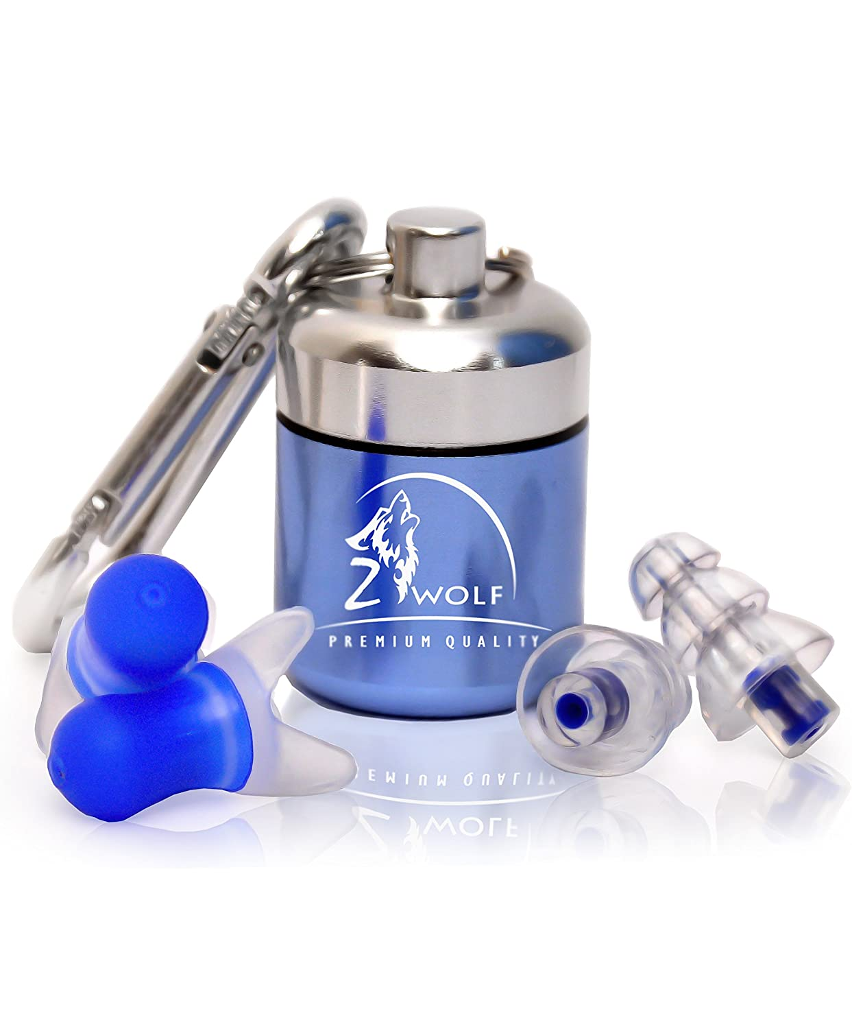 High Fidelity Reusable Ear Plugs With Filter By Zwolf Matador Travel Earplugs Kit Noise Cancelling Set Hearing Protection For Professional Musicians Sleeping