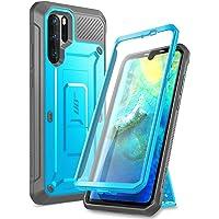 SUPCASE Funda Huawei P30 Pro, [Unicorn Beetle Pro Series] Funda Resistente de Cuerpo Completo con Protector de Pantalla Incorporado para Huawei P30 Pro,Compatible con Huawei P30 Pro (Azul)