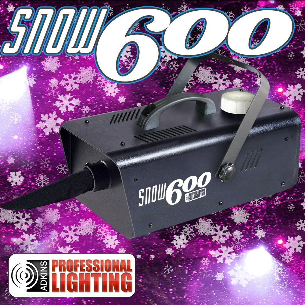 Snow Machine 600 - Great snow machine that produces the illusion of real snow. Adkins Professional lighting AL-SM600