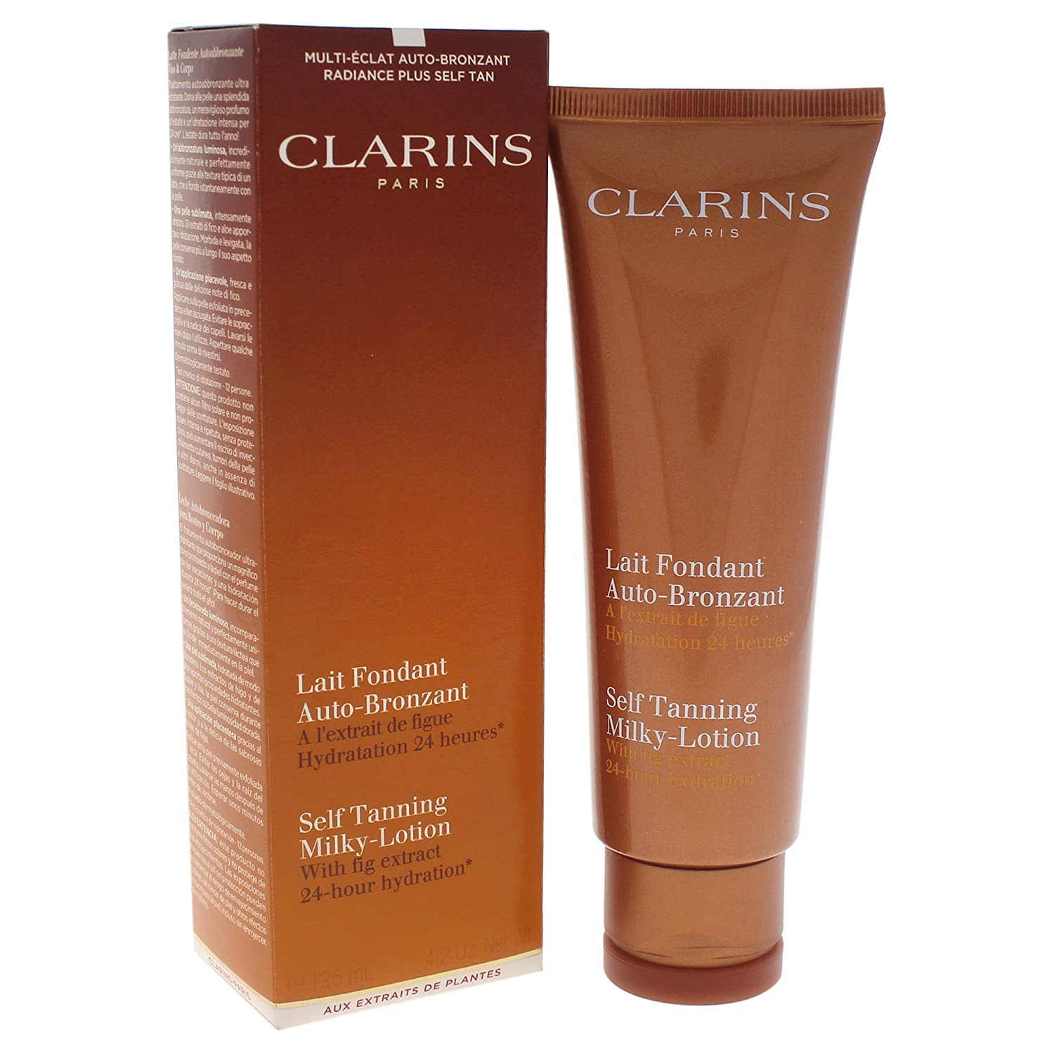 Clarins Self Fake Tanning Milky Bronzing Lotion 125ml 3380810034721 CLA00053_-125ML