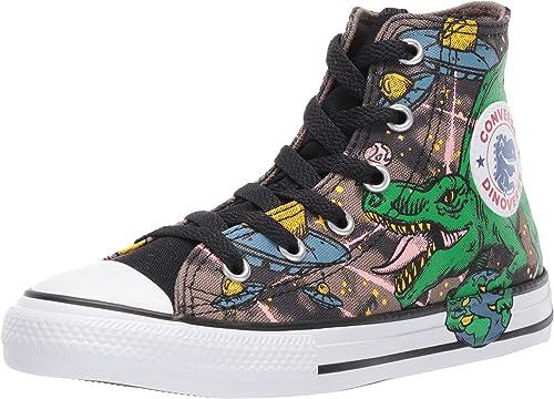 Converse CTAS Hi Kids Sneaker Chuck Unisex Junior Canvas Dino 665391C
