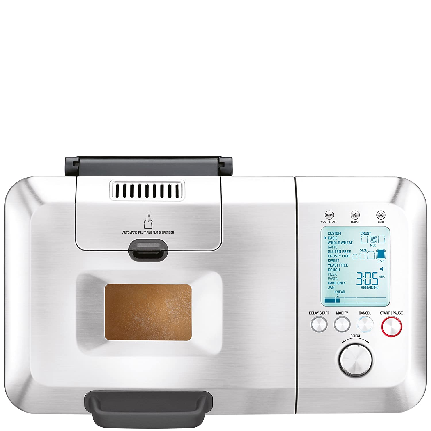 #5 rated in quiet: Breville BBM800XL Custom Loaf Bread Maker, scored 88/100