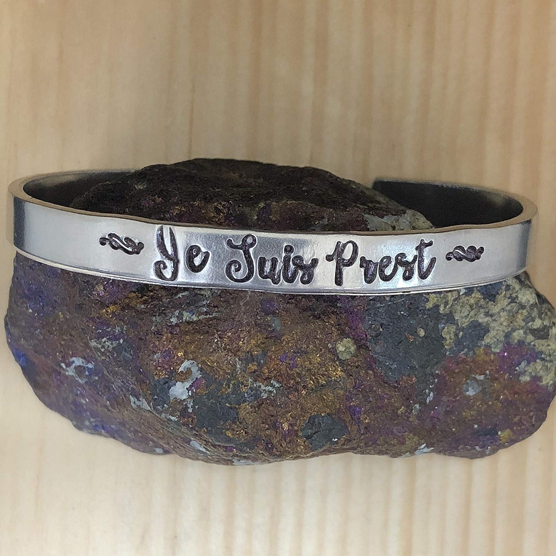 Outlander inspired cuff bracelet Je Suis Prest