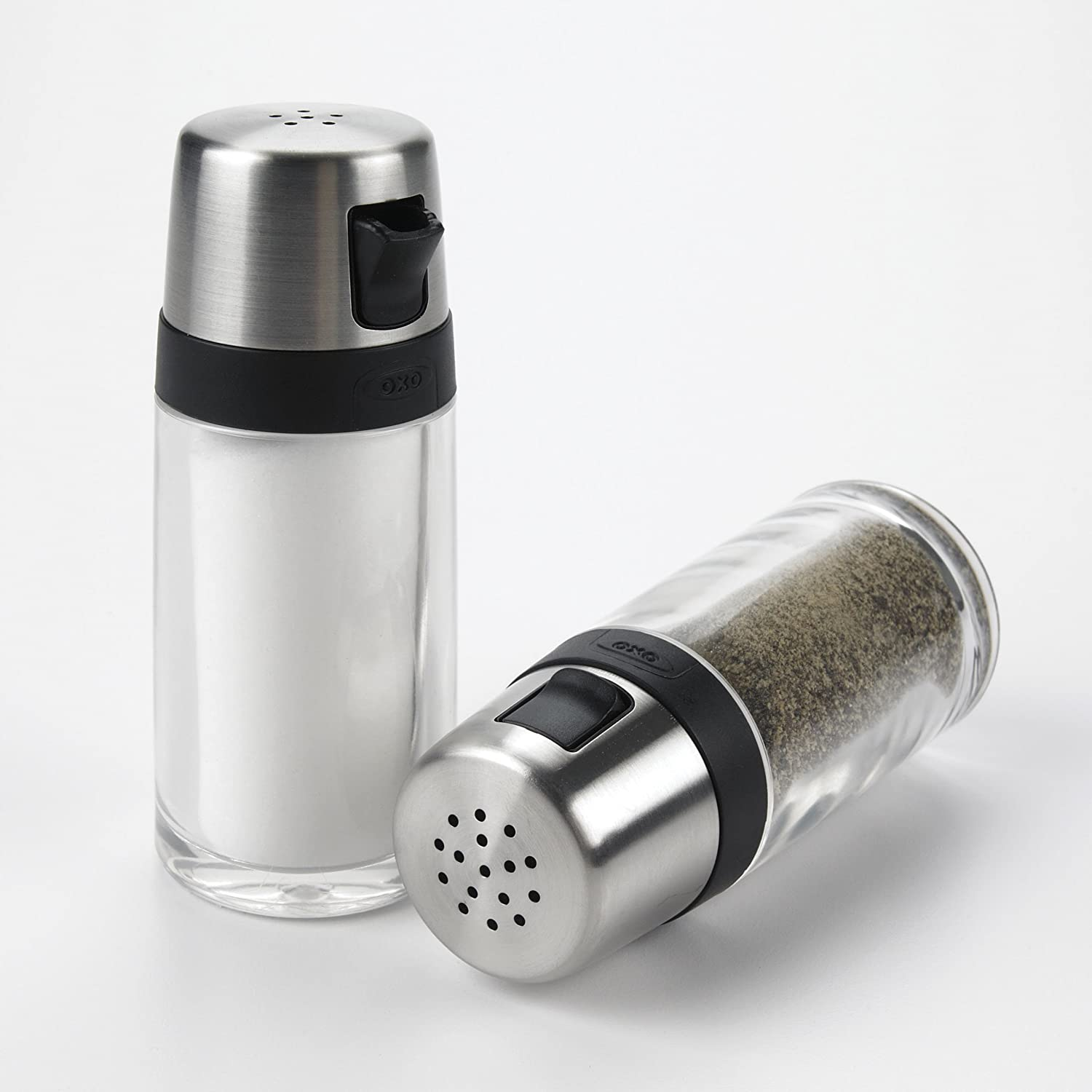 Amazon OXO Good Grips Salt and Pepper Shaker Set with Pour