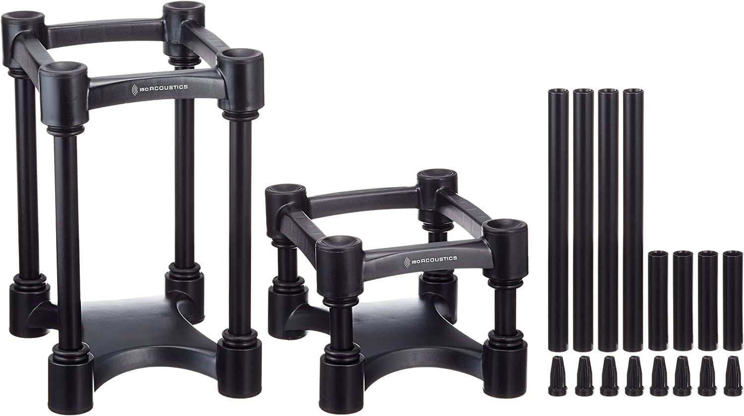 "IsoAcoustics ISO-L8R155 Monitor Isolation Stands (6.1"" x 7.5"") Old Model"