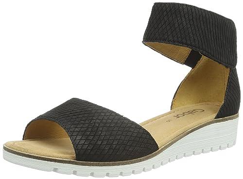 fe1b0329c15d Gabor Women s Open Toe Sandals  Amazon.co.uk  Shoes   Bags