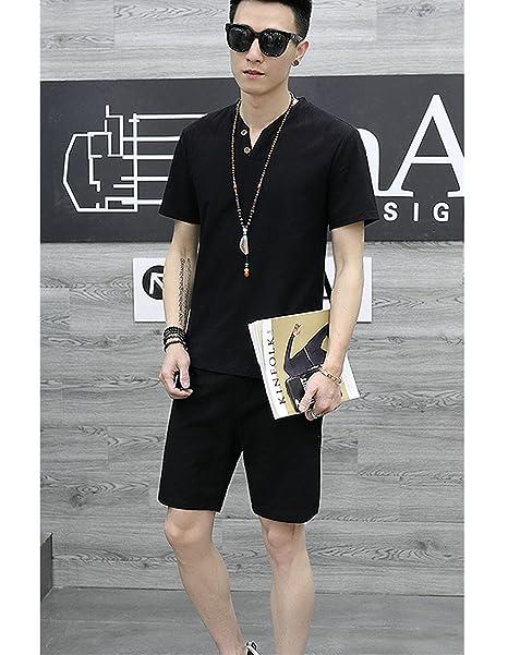 Amazon.com: rachape estilo Verano Traje de ocio camisa de ...