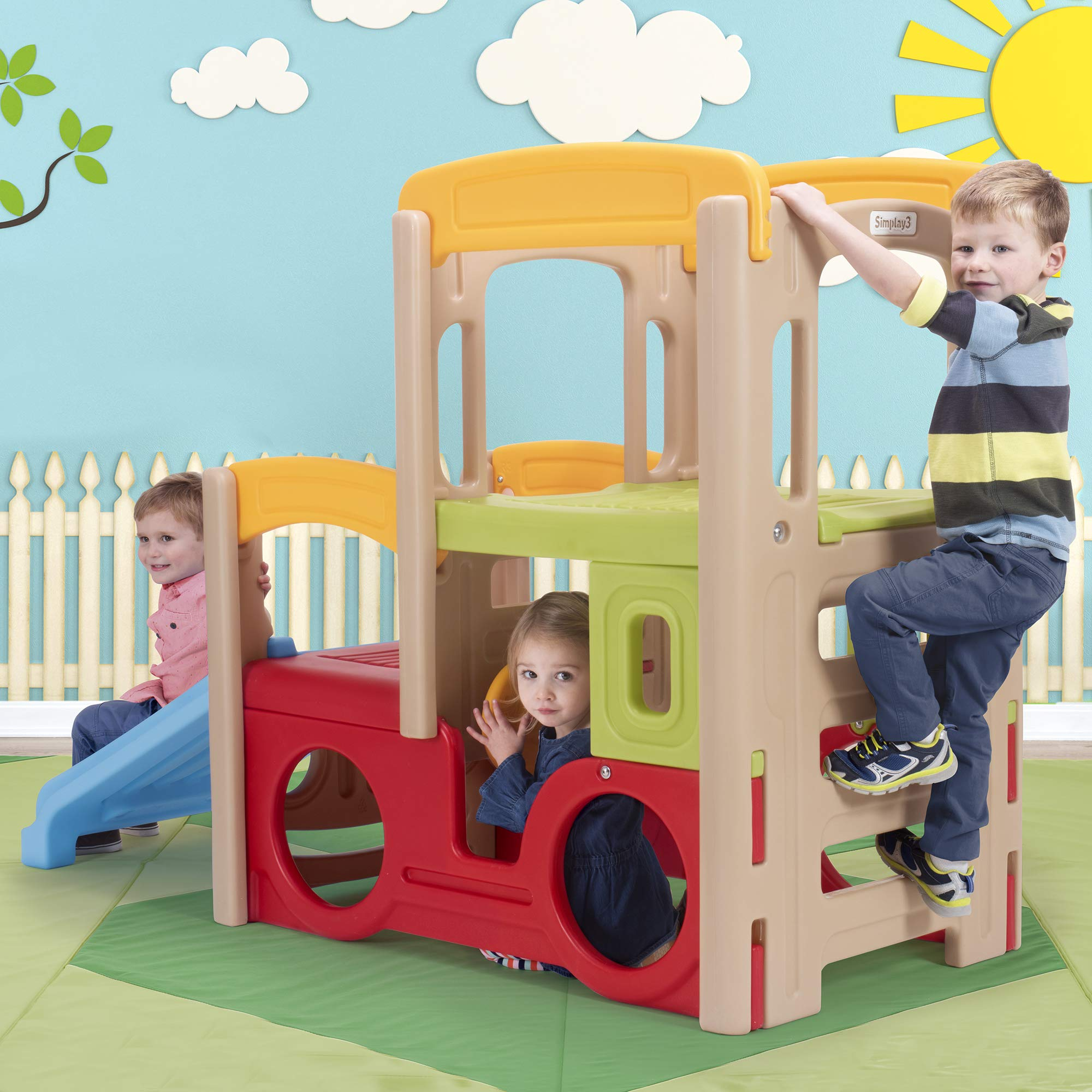 Simplay3 Young Explorers Adventure Climber - Indoor Outdoor Crawl Climb Drive Slide Playset for Children by Simplay3 (Image #7)