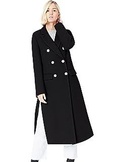 new product 1ba6d f0c79 Amazon-Marke: find. Mantel Damen mit Karomuster und hohen ...
