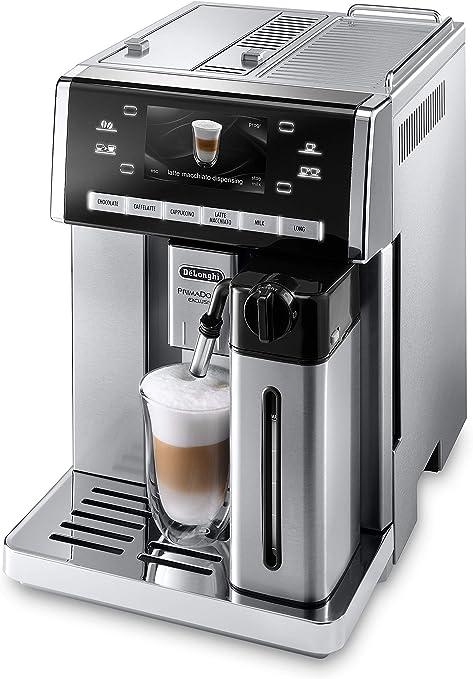 DeLonghi ESAM 6900.M - Máquina espresso, 1350 W, 1.4 L, 80 dB, acero inoxidable/plástico, acero inoxidable: Amazon.es: Informática
