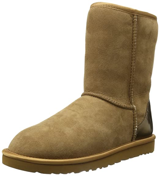 3758747df4e UGG Women's Classic Short Metallic Patent Boot