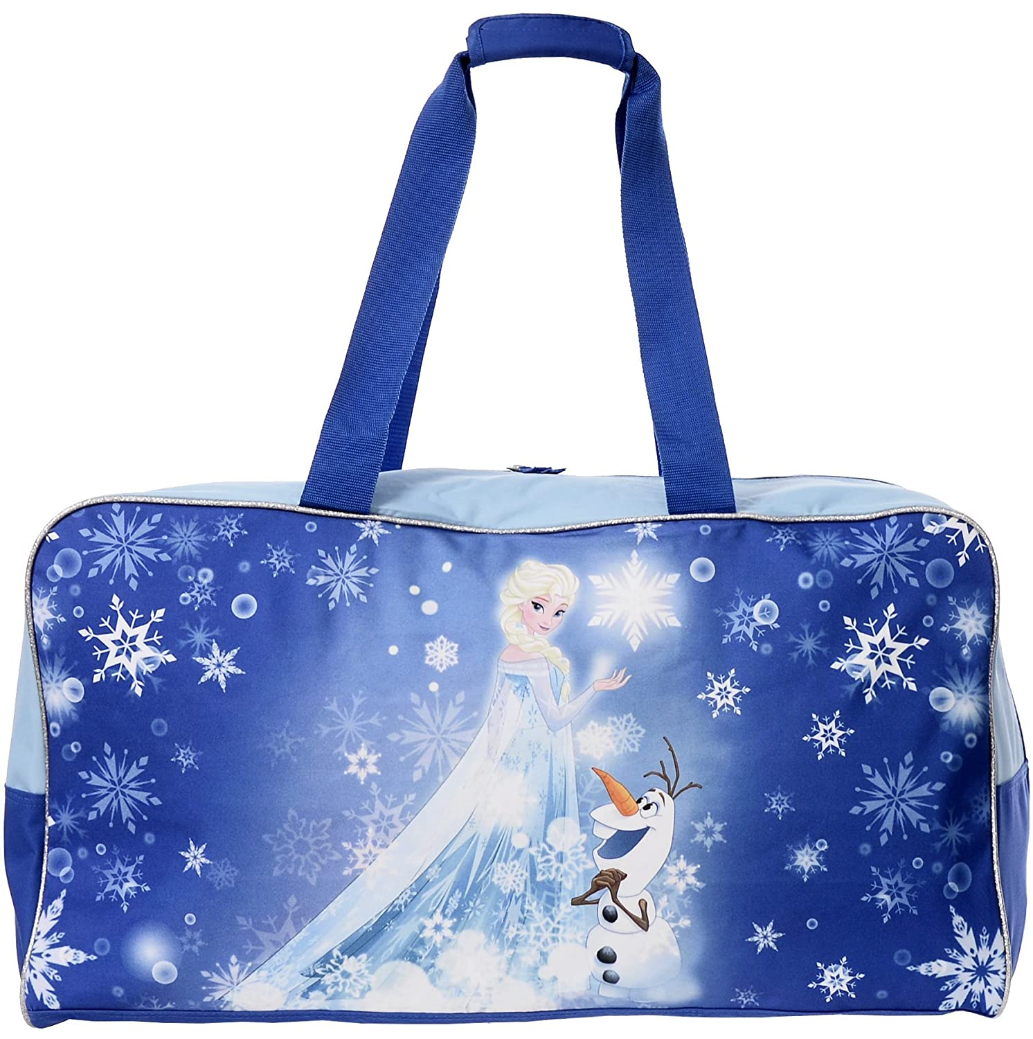 Disney Frozen Kid's Elsa and Olaf Duffle Travel Bag Travelway K0869_FRHB_BLU
