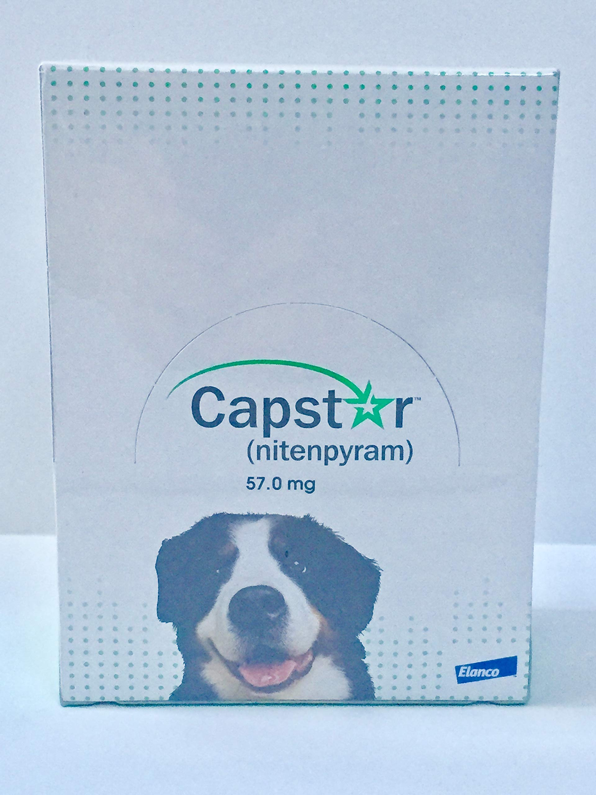 capstar (nitenpyram 57.0 mg Dogs Over 25 lbs (60 Tablets) by capstar (Image #2)