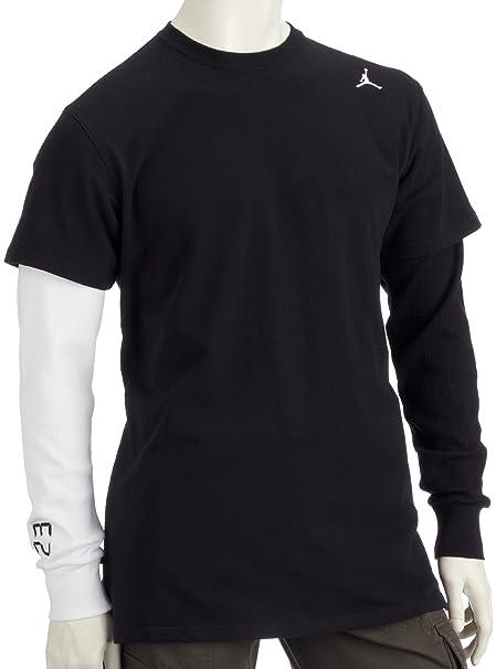 Nike para Hombre Jordan gofres y Sticks Sudadera, Liso, Hombre, Color Negro, tamaño X-Large: Amazon.es: Ropa y accesorios