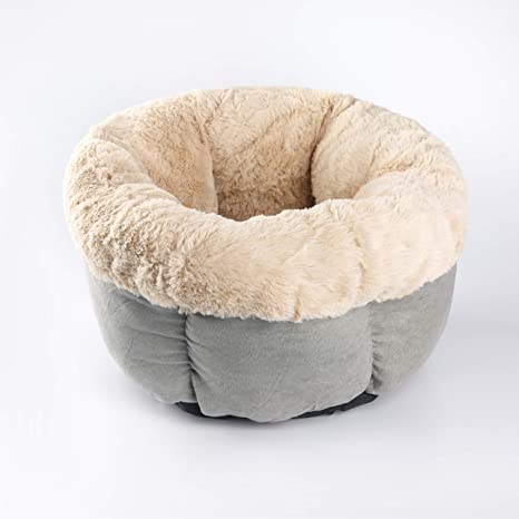 Prime Anpi Pet Bed Cave Round Bed Cushion For Cat Dog Rabbit Warm Soft Comfortable Improve Sleep Easy To Clean Inzonedesignstudio Interior Chair Design Inzonedesignstudiocom