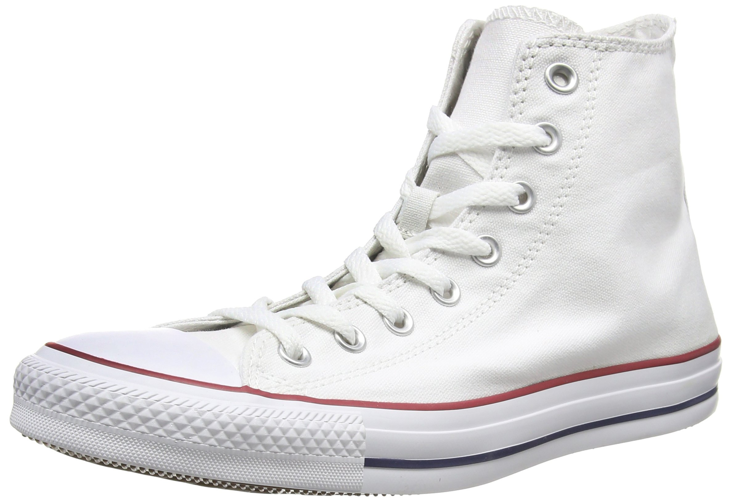 Converse Chuck Taylor All Star High Top Shoe, optical white, 6.5 M US